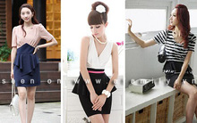 Váy Peplum - Sự pha trộn hoàn hảo cổ điển và hiện đại