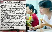 Đây có lẽ là lá đơn xin thôi việc ngọt ngào nhất Việt Nam
