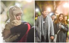 Những cái ôm, những nụ hôn, vòng tay ấm áp trong một tối mùa đông Hà Nội