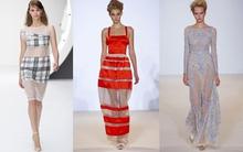 Lãng mạn tiệc hè với xu hướng váy sheer 2013