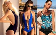 Áo tắm 1 mảnh - thời trang biển tuyệt vời cho quý cô