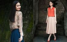 Sơmi & chân váy midi - set đồ hoàn hảo cho ngày chớm thu