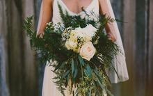 Chút bay bổng và tự do cho ngày cưới với hoa cô dâu kiểu Rustic