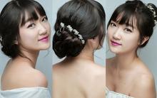 3 kiểu búi khiến tóc mái bằng trông vẫn kiêu sa và thanh lịch