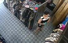 """Độc chiêu trộm đồ trong shop nhét vào váy bầu của hai """"nữ quái"""""""