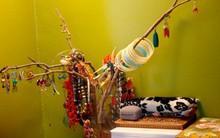 Mẹo sáng tạo vừa giúp bạn lưu trữ đồ trang sức vừa trang trí nhà