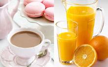 Giảm nguy cơ bị ung thư buồng trứng nhờ uống trà và nước cam