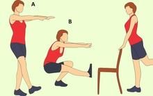 10 động tác tập tại nhà giúp bạn giữ chân thon, hông gọn