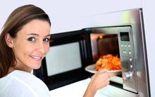 5 hiểu lầm và sự thật về sử dụng lò vi sóng trong nấu nướng