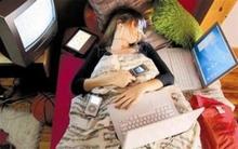Tác hại của thiết bị điện tử tới giấc ngủ