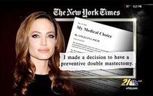 Angelina Jolie chia sẻ về quyết định cắt buồng trứng