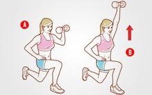 4 động tác làm săn chắc cơ bụng hiệu quả