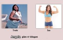 Hành trình giảm hơn 47 kg của người phụ nữ đầy nghị lực