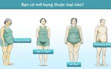 4 loại bụng mỡ và cách hô biến chúng thật nhanh chóng