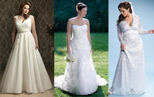 """Chọn váy cưới cho cô dâu """"ngoại cỡ"""""""