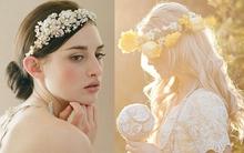 4 kiểu tóc đơn giản, cuốn hút cho lễ cưới mùa thu