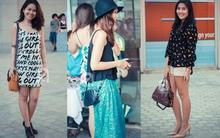 Ngắm street style tương đồng của phái đẹp Sài Gòn và Singapore