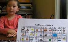 Bé gái 5 tuổi thuộc lòng 500 hình ảnh không cần nhìn sách nhờ phương pháp đang gây tranh cãi