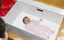 Hộp sơ sinh - vật dụng vô cùng hữu ích đang được nhiều bà mẹ Anh dùng cho con ngủ