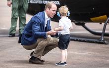 Hành động đặc biệt của Hoàng tử William với con trai 3 tuổi và bài học mọi bố mẹ nên áp dụng
