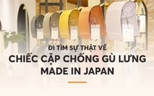 Đi tìm sự thật về chiếc cặp chống gù lưng các mẹ Việt