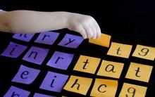 Không cần đến lớp học thêm, trò chơi này sẽ giúp con học chữ, học đọc trôi chảy