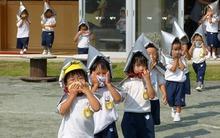 Ở Nhật, khi xảy ra hỏa hoạn thì mỗi em bé sẽ là một người hùng