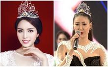 Sự giống nhau đến kỳ lạ của vương miện Hoa hậu Hà Kiều Anh và Hoa hậu Kỳ Duyên