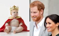 """Sinh ra là em bé """"ngậm thìa vàng"""" nhưng con của Meghan sẽ có cuộc sống khác biệt so với Hoàng tử George"""