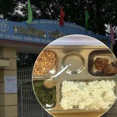 Hà Nội: Thêm một phụ huynh tố bữa trưa trị giá 15.000 đồng của học sinh lớp 2 chỉ có 2 viên chả cùng ít muối vừng