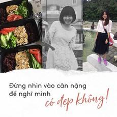 Đừng nhìn vào cân nặng rồi o ép phải giảm cân, hãy học bí quyết giảm mỡ, tăng cơ của cô gái này để luôn khỏe đẹp dài lâu!