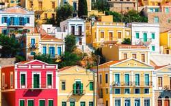 Thành phố ven biển xinh xắn ở Hy Lạp
