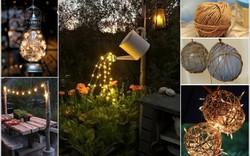 Tự làm điểm nhấn ánh sáng cho sân vườn thêm lãng mạn bằng 10 cách đơn giản dưới đây