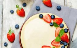 Mềm mịn thơm ngon với cheesecake trái cây