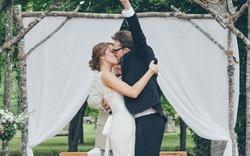 Cuối cùng chúng ta đã kết hôn!