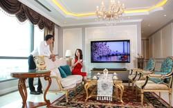 Phòng khách đẳng cấp với các dòng TV 4K siêu mỏng