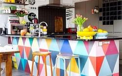 Những nhà bếp với gam màu rực rỡ thổi bay lạnh giá của mùa đông