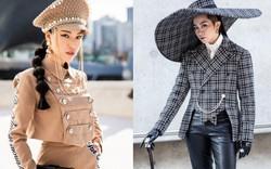 """Gil Lê tóc dài lạ lẫm cùng mũ khổng lồ, MC Hoàng Oanh thời thượng với phong cách quân đội """"đổ bộ"""" Seoul Fashion Week"""