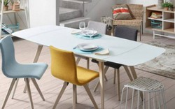5 mẫu bàn ăn mở rộng sang trọng cho cuộc sống hiện đại