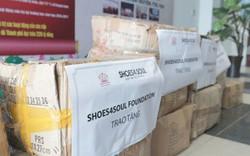 Đổi Giày Cũ – Nhân Giày Mới: Hơn 30.000 bé được nhận giày trong suốt 3 năm