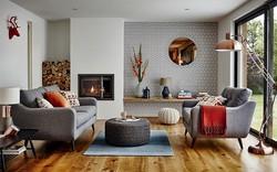 Ngây ngất trước vẻ đẹp của những phòng khách mang phong cách midcentury hiện đại nhưng vô cùng ấm cúng