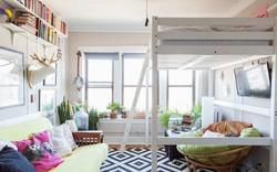 Học lỏm 7 ý tưởng thiết kế giúp tối đa hóa không gian nhà đi thuê hiệu quả