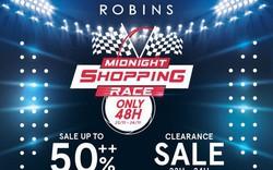 Thiên đường shopping hàng hiệu Robins đồng loạt giảm giá khủng 50%++ dịp Black Friday