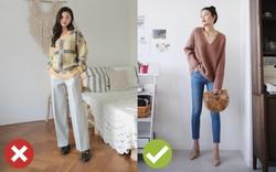 """Giờ đi đâu cũng thấy áo len oversized, để diện item này không bị luộm thuộm bạn hãy """"bỏ túi"""" 3 tips sau"""