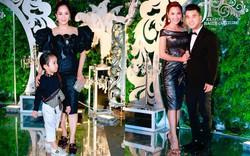 """Vắng mặt Phan Hiển, Khánh Thi dẫn """"cậu ấm"""" xuất hiện nổi bật tại sự kiện thời trang"""