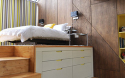 6 thiết kế giường đặc biệt dành riêng cho những phòng ngủ có diện tích nhỏ