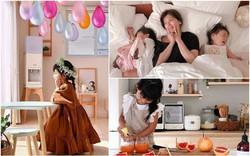 Ngôi nhà tràn đầy nắng ấm và bình yên của mẹ đơn thân cùng hai cô công chúa nhỏ ở Nhật Bản