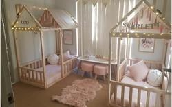 """10 thiết kế phòng cho hai bé sinh đôi đẹp """"chuẩn không cần chỉnh"""""""