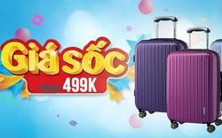 Sắm vali du lịch siêu bền, siêu đẹp chỉ từ 499.000Đ