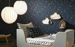 Những kiểu trang trí tường đen thật đẹp mắt trong phòng ngủ của các bé